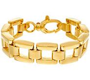 Oro Nuovo Average Panther Link Reversible Bracelet, 14K - J334618