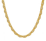Judith Ripka 14K Clad 18 4.50 cttw Diamonique Necklace - J350618