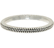 Simon Sebbag Sterling Silver Textured Round Bangle Bracelet - J351018