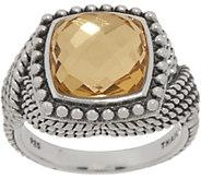 Tiffany Kay Studio Sterling Silver Rock Crystal Quartz Ring - J352318
