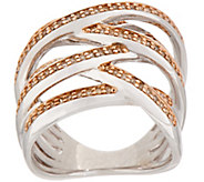 Colored Diamond Highway Ring, 1/2 cttw, Sterling, by Affinity - J354018