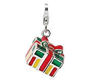 Amore La Vita Sterling Dimensional Gift BoxCharm - J300019