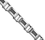 Forza 8-1/2 Wire Satin Link Bracelet - J306519