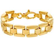 Oro Nuovo Large Panther Link Reversible Bracelet, 14K - J334619