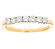 7-Stone Band Diamond Ring, 14K Gold, 1/2cttw byAffinity - J336119