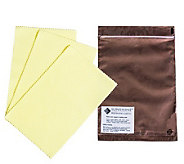 Set of 3 Polishing Cloths - J340319