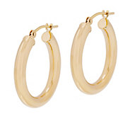 EternaGold 3/4 Polished Round Hoop Earrings, 14K - J344719
