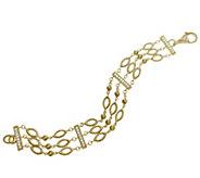 Judith Ripka 14K Clad & Diamonique Bracelet - J344819