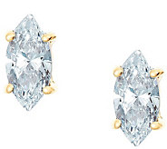 Marquise Diamond Earrings, 14K Gold, 3/4 cttw,by Affinity - J345219