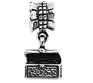Prerogatives Sterling Treasure Chest Dangle Bead - J109120