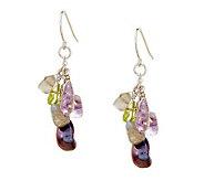 Honora Cultured Keshi Pearl and Gemstone Sterling Earrings - J278120
