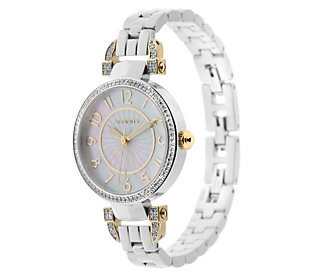 Product image of Diamond Bracelet Watch Stainless Steel 1/2 cttw by Affinity