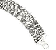 Stainless Steel 8 Multistrand Chain Bracelet - J312020