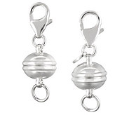 UltraFine Silver Set of 2 Magnetic Jewelry Clasps - J313520