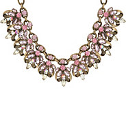 Joan Rivers Crystal Couture 19 Statement Necklace w/ 3 Extender - J322620