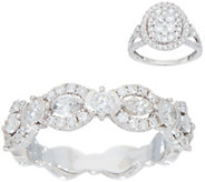 Diamond Band or Cluster Ring, 14K, By Affinity - J353120