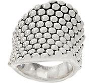 Simon Sebbag Sterling Silver Electroform Prosecco Ring - J354520