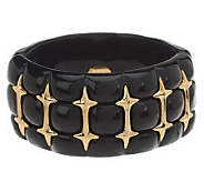 Quilted Color Stretch Bangle Bracelet - J265421