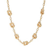 Linea by Louis DellOlio 18 Love Knot Station Necklace - J270121