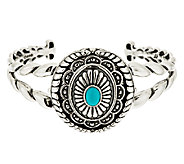 Treasures Sleeping Beauty Turquoise 38.0g Sterl. Cuff by American West - J291921