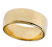 Veronese 18K Clad 7mm Polished Silk Fit Band Ring - J299121