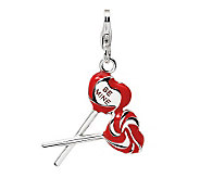 Amore La Vita Sterling Red Heart and Be MineLollipops Charm - J299921