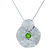 Hagit Gorali Sterling Gemstone Vibes Pendant with Chain - J306821