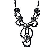 Susan Graver Beaded Statement Necklace - J327721