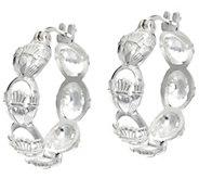 JMH Jewellery Sterling Silver Claddagh Huggie Hoop Earrings - J331421