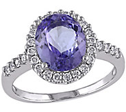 2.50 ct Tanzanite & Diamond Ring, 14K Gold - J341621