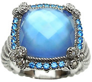 Judith Ripka Sterling in Choice of Stone Ring - J342921