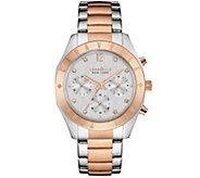 Caravelle New York Rosetone Womens Watch - J343121