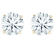 Round Diamond Stud Earrings, 14K Yellow, 1/2cttw by Affinity - J345021