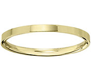 Mens 14K Yellow Gold 2.5mm Flat Comfort Fit Wedding Band - J375221