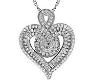 Diamond Heartistry Pendant, 14K, 3/4 cttw by Affinity - J113922