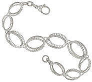 Judith Ripka Sterling Diamonique 8 1/4 Bracelet - J323322