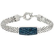 Popcorn Chain Diamond Bracelet, Sterling, 1/3 cttw, Affinity - J326522