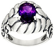 Carolyn Pollack Sterling Silver Brilliant 1.90 cttw Oval Gemstone Ring - J331022
