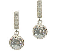 Judith Ripka Sterling Diamonique Earrings - J376922