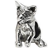 Prerogatives Sterling Abyssinian Cat Bead - J299523