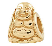 Prerogatives 14K Yellow Gold-Plated Sterling Buddha Bead - J302823
