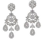 The Elizabeth Taylor 12.40 cttw Simulated Diamond Earring - J319823