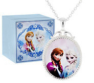 As Is Disney Frozen Necklace with Music Box - J320223