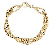 As Is EternaGold 7 Polished Multi- Link Bracelet 14K Gold, 5.3g - J328023