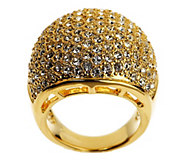 As Is Melania Bold Pave Style Dome Ring - J328723