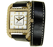 Judith Ripka Strap Wrap Watch - Goldtone - J339323