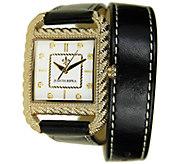 Judith Ripka Strap Wrap Watch - Goldtone - J339323