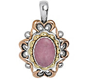 Carolyn Pollack Radiance Mixed Metal RhodoniteEnhancer - J343623