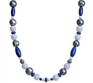 Carolyn Pollack Sterling Blue Gemstone 16 Necklace - J343823