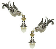 Barbara Bixby Sterling & 18K Sparrow Ear Climbers - J345123